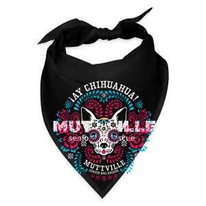 Muttville's AY CHIHUAHUA tee for men - Bandana