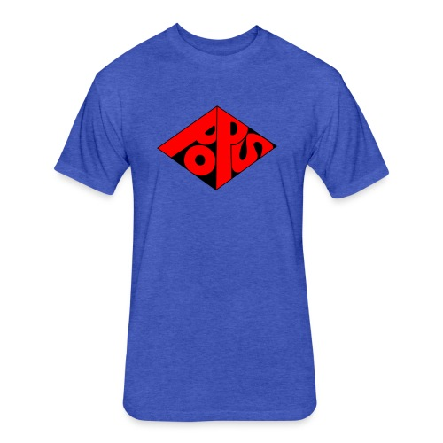 PoPS Logo Men's T-Shirt - American Apparel - Fitted Cotton/Poly T-Shirt by Next Level