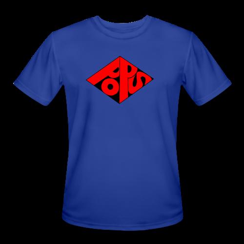 PoPS Logo Men's T-Shirt - American Apparel - Men's Moisture Wicking Performance T-Shirt