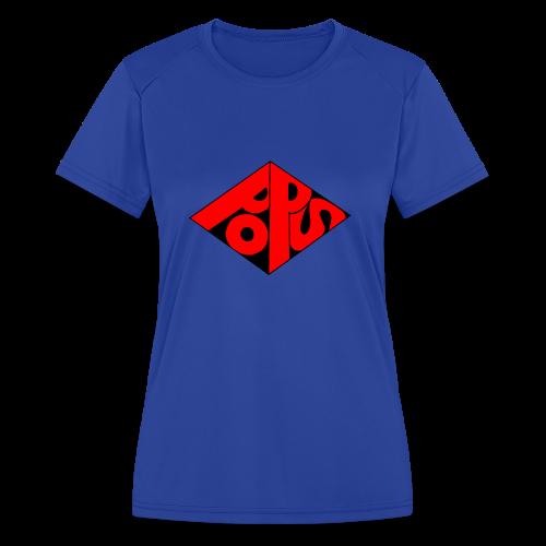 PoPS Logo Men's T-Shirt - American Apparel - Women's Moisture Wicking Performance T-Shirt