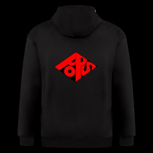 PoPS Logo Men's T-Shirt - American Apparel - Men's Zip Hoodie