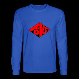 PoPS Logo Men's T-Shirt - American Apparel - Men's Long Sleeve T-Shirt