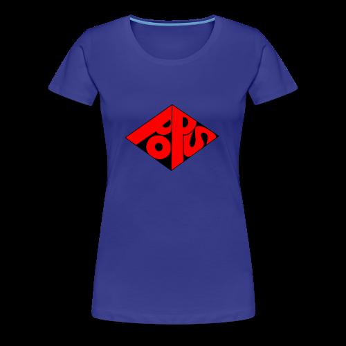 PoPS Logo Men's T-Shirt - American Apparel - Women's Premium T-Shirt