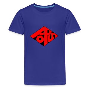 PoPS Logo Men's T-Shirt - American Apparel - Kids' Premium T-Shirt