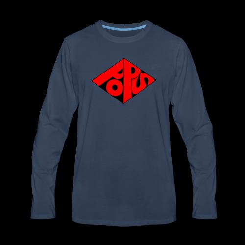 PoPS Logo Men's T-Shirt - American Apparel - Men's Premium Long Sleeve T-Shirt