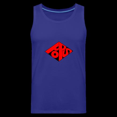 PoPS Logo Men's T-Shirt - American Apparel - Men's Premium Tank