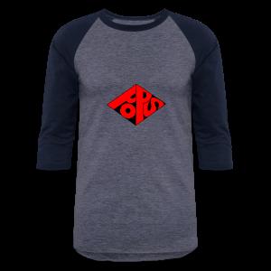 PoPS Logo Men's T-Shirt - American Apparel - Baseball T-Shirt
