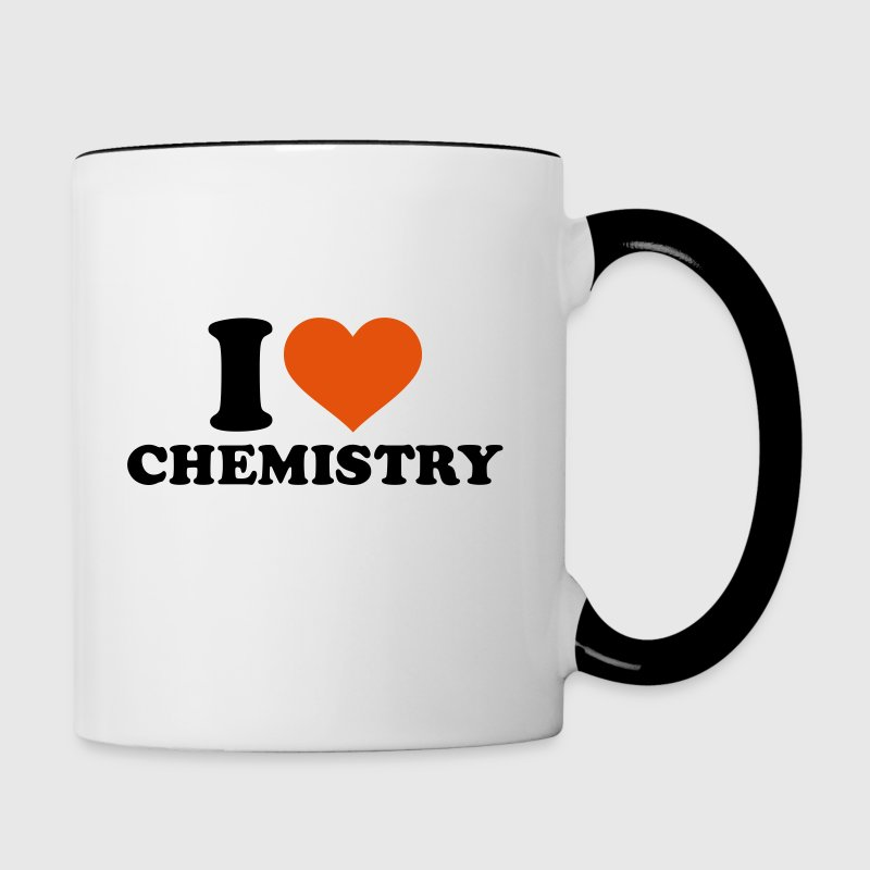 I love Chemistry Bottles & Mugs - Contrast Coffee Mug