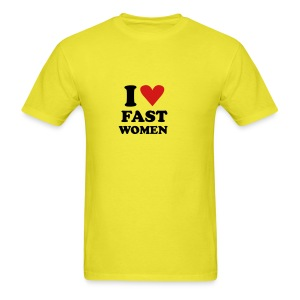 Heart Fast Women /    / Baby - Men's T-Shirt