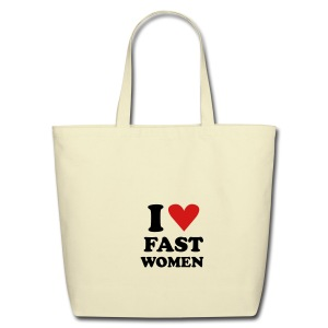 Heart Fast Women /    / Baby - Eco-Friendly Cotton Tote