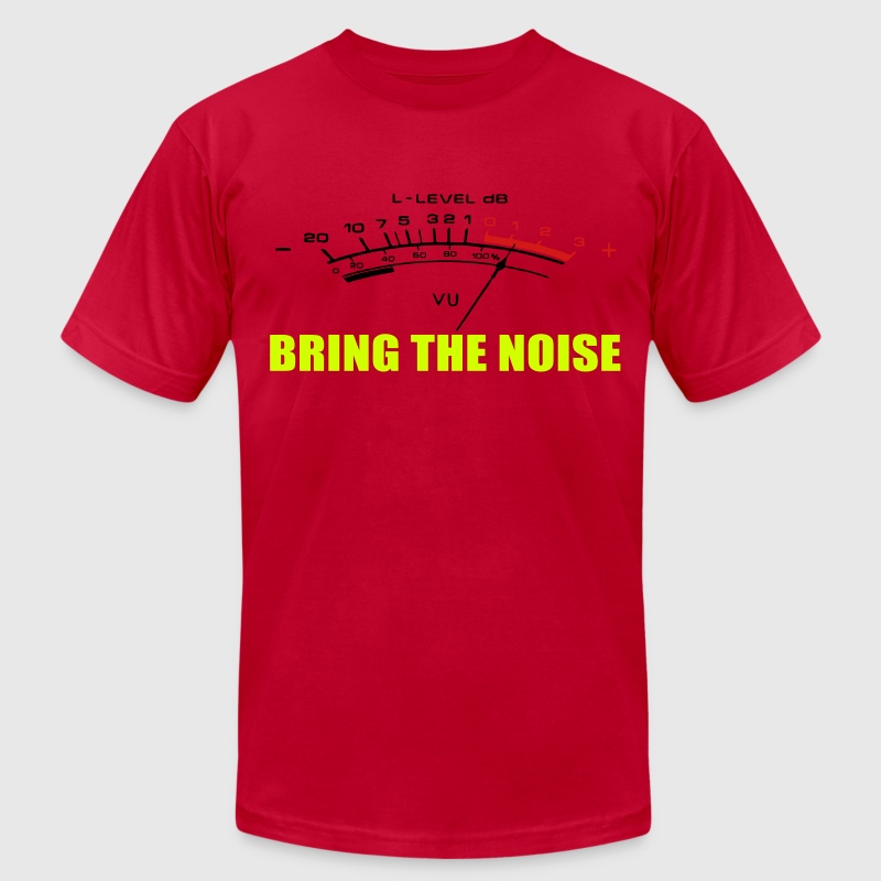 BRING THE NOISE T-Shirts - Men's T-Shirt by American Apparel