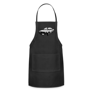 Toyota Cressida X60 series illustration - Adjustable Apron