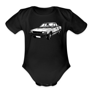 Toyota Cressida X60 series illustration - Short Sleeve Baby Bodysuit