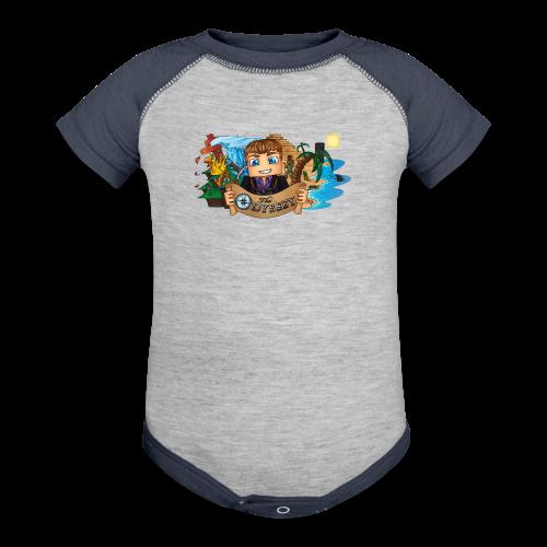 The Odyssey MEN - Contrast Baby Bodysuit