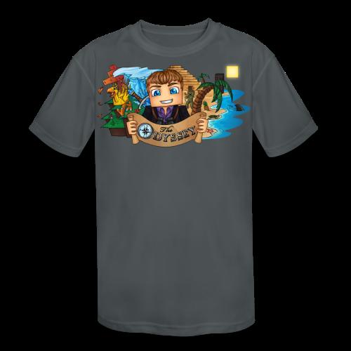 The Odyssey MEN - Kid's Moisture Wicking Performance T-Shirt