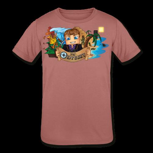 The Odyssey MEN - Kid's Tri-Blend T-Shirt