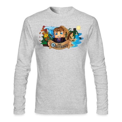 The Odyssey MEN - Men's Long Sleeve T-Shirt by Next Level
