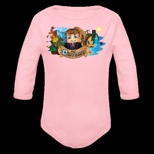 The Odyssey MEN - Organic Long Sleeve Baby Bodysuit