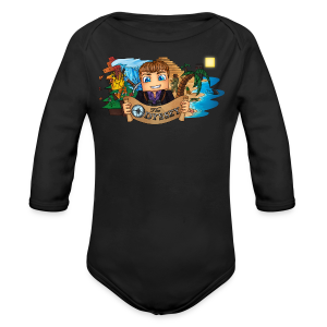 The Odyssey MEN - Long Sleeve Baby Bodysuit