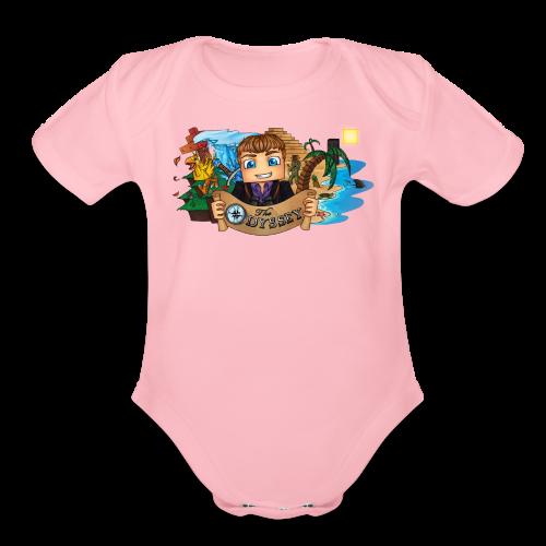 The Odyssey MEN - Organic Short Sleeve Baby Bodysuit