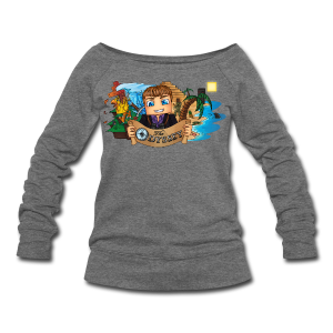 The Odyssey MEN - Women's Wideneck Sweatshirt