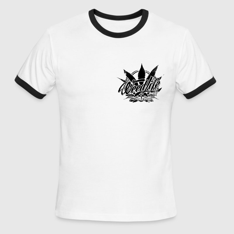 Weed Life Products - Men's Ringer T-Shirt