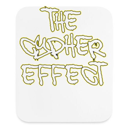Blue TCE Logo Shirt (YELLOW) - Mouse pad Vertical