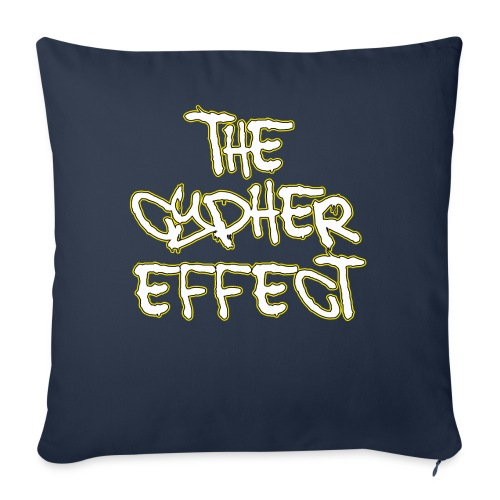 Blue TCE Logo Shirt (YELLOW) - Throw Pillow Cover