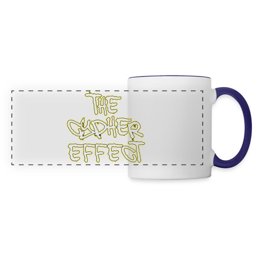 Blue TCE Logo Shirt (YELLOW) - Panoramic Mug