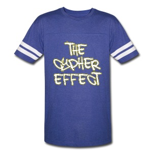 Blue TCE Logo Shirt (YELLOW) - Vintage Sport T-Shirt