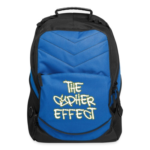 Blue TCE Logo Shirt (YELLOW) - Computer Backpack