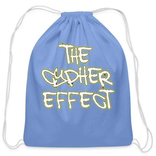 Blue TCE Logo Shirt (YELLOW) - Cotton Drawstring Bag