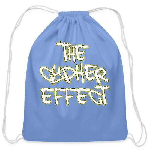 Blue TCE Logo Shirt (YELLOW) - Cotton Drawstring Bag