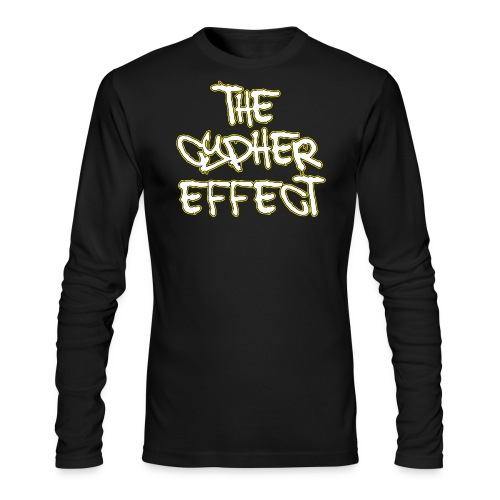 Blue TCE Logo Shirt (YELLOW) - Men's Long Sleeve T-Shirt by Next Level