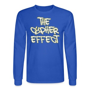 Blue TCE Logo Shirt (YELLOW) - Men's Long Sleeve T-Shirt