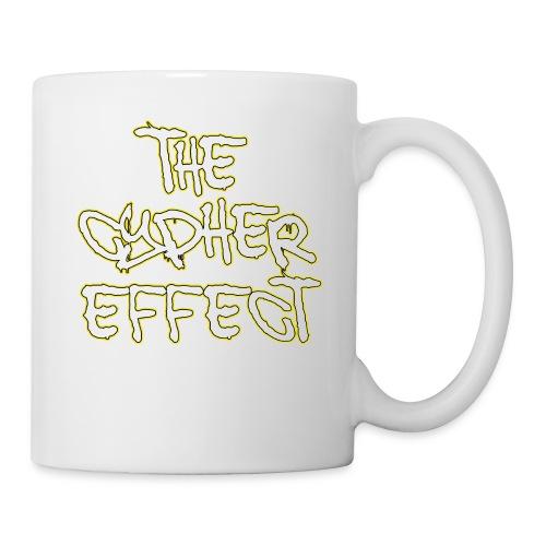 Blue TCE Logo Shirt (YELLOW) - Coffee/Tea Mug
