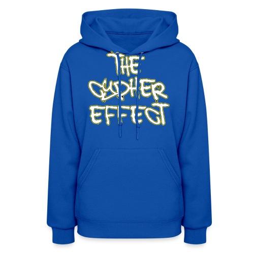 Blue TCE Logo Shirt (YELLOW) - Women's Hoodie