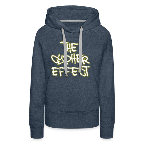 Blue TCE Logo Shirt (YELLOW) - Women's Premium Hoodie