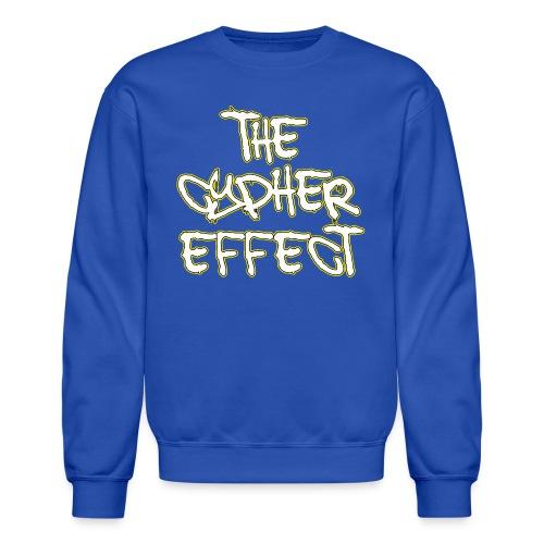 Blue TCE Logo Shirt (YELLOW) - Crewneck Sweatshirt