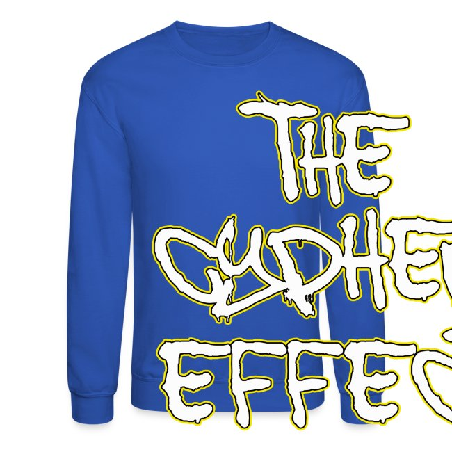 Blue TCE Logo Shirt (YELLOW)