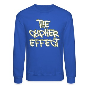 Blue TCE Logo Shirt (YELLOW) - Crewneck Sweatshirt