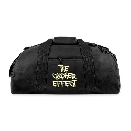 Blue TCE Logo Shirt (YELLOW) - Duffel Bag