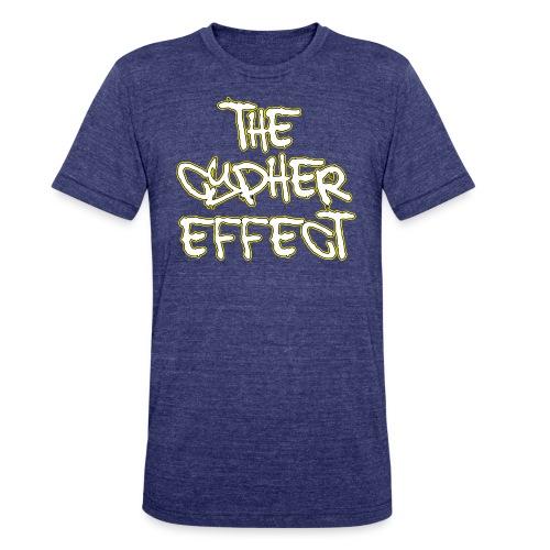 Blue TCE Logo Shirt (YELLOW) - Unisex Tri-Blend T-Shirt