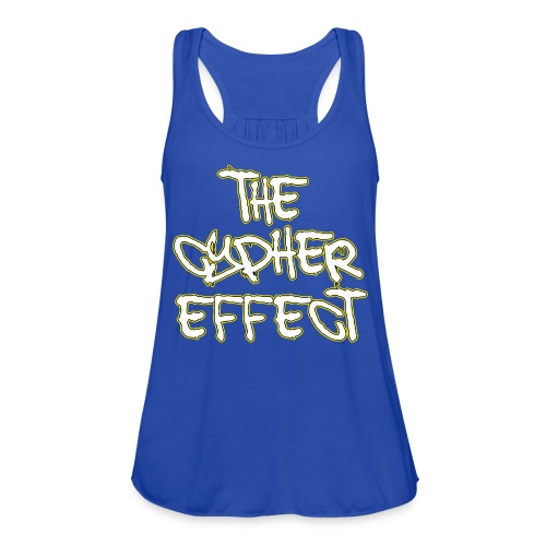 Blue TCE Logo Shirt (YELLOW) - Women's Flowy Tank Top by Bella