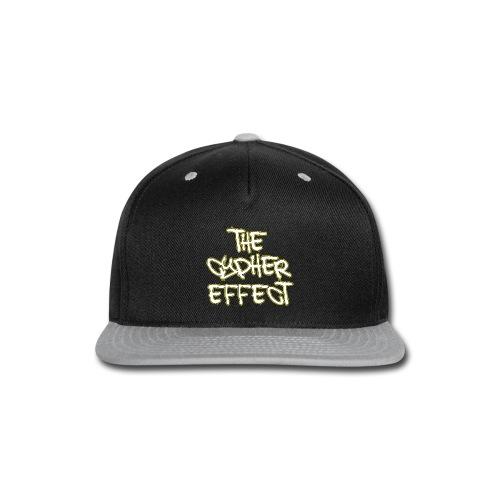 Blue TCE Logo Shirt (YELLOW) - Snap-back Baseball Cap