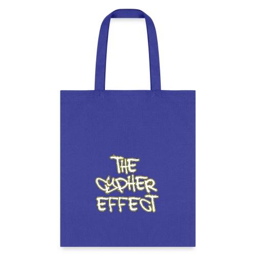 Blue TCE Logo Shirt (YELLOW) - Tote Bag