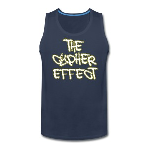 Blue TCE Logo Shirt (YELLOW) - Men's Premium Tank