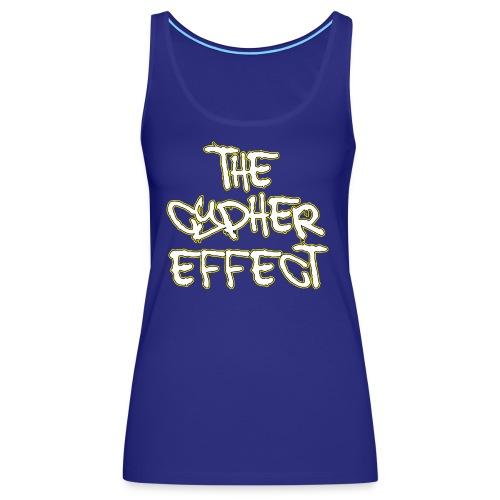 Blue TCE Logo Shirt (YELLOW) - Women's Premium Tank Top