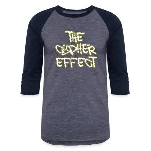 Blue TCE Logo Shirt (YELLOW) - Baseball T-Shirt