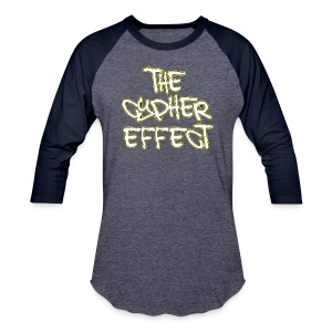 Blue TCE Logo Shirt (YELLOW) - Baseball T-Shirt